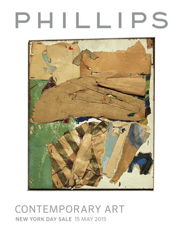 Contemporary Art Day Sale Catalogue By Phillips Issuu