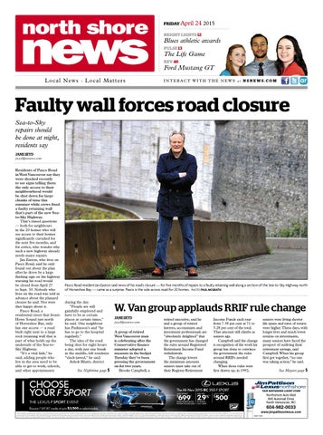 North Shore News April 24 2015 By North Shore News Issuu