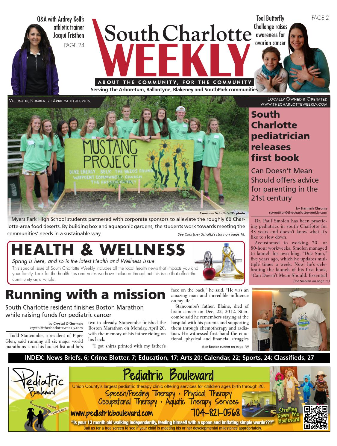 South Charlotte Weekly by Carolina Weekly Issuu