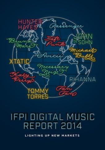 Music sector ifpi digital music report 2014 lighting up new markets