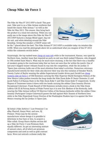 new style 78e85 0278b Cheap Nike Air Force 1 by cooingleash4783 - issuu