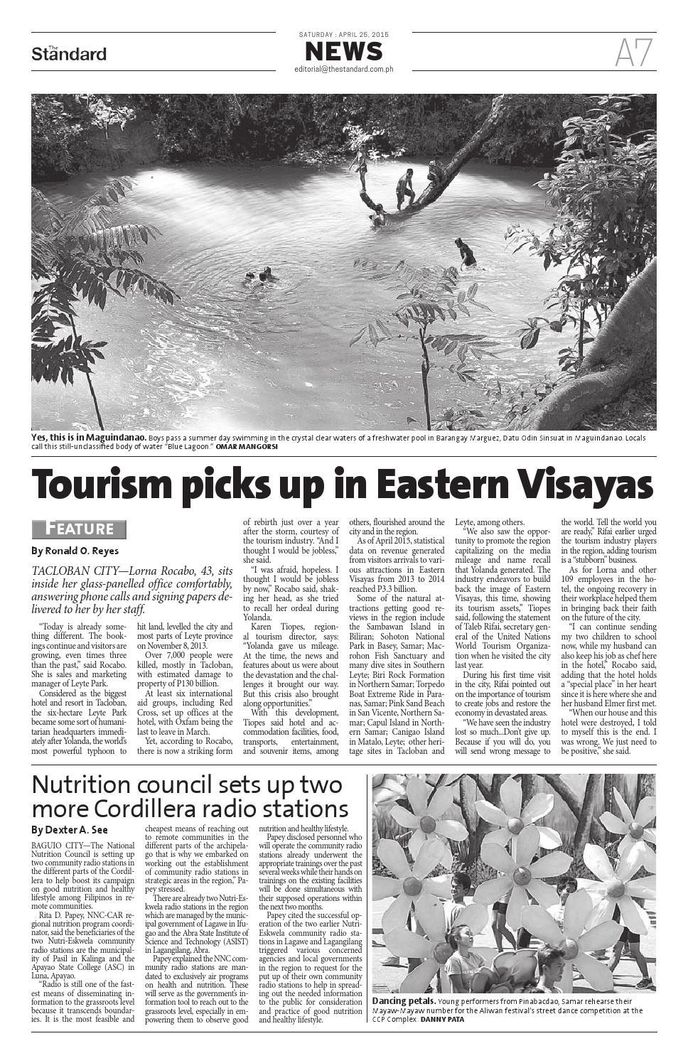 The Standard - 2015 April 25 - Saturday by Manila Standard - issuu