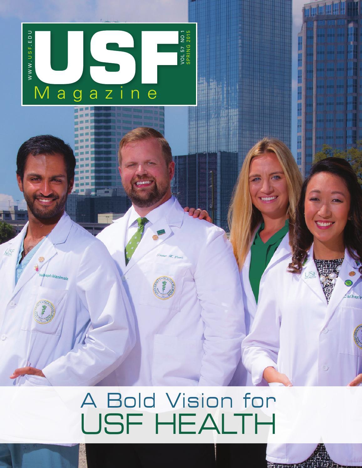 USF Magazine Spring 2015 by USF magazine - issuu