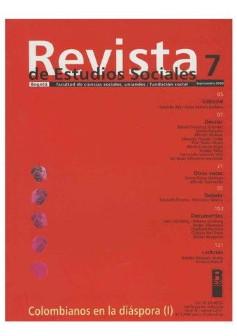 c7e28ff08ae Revista de Estudios Sociales No. 7 by Publicaciones Faciso - issuu