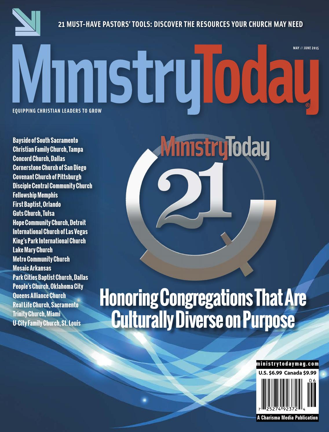 Ministry Today May/June 2015 by Charisma Media - issuu