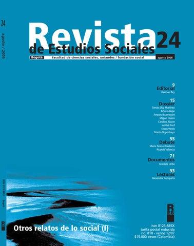 Revista de Estudios Sociales No. 24 by Publicaciones Faciso - issuu 5a4314bef57