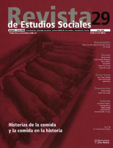 3d3d4e0384493 Revista de Estudios Sociales No. 29 by Publicaciones Faciso - issuu