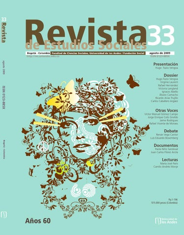 Revista De Estudios Sociales No 33 By Publicaciones Faciso
