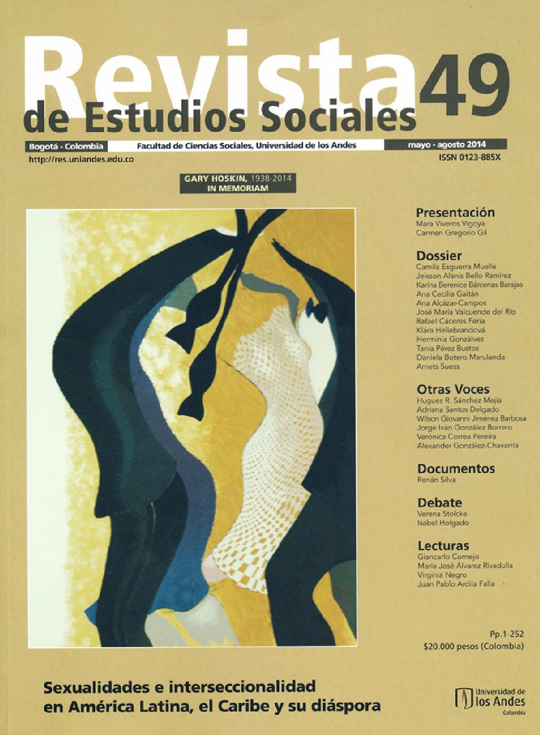 d347ee246ac85 Revista de Estudios Sociales No. 49 by Publicaciones Faciso - issuu