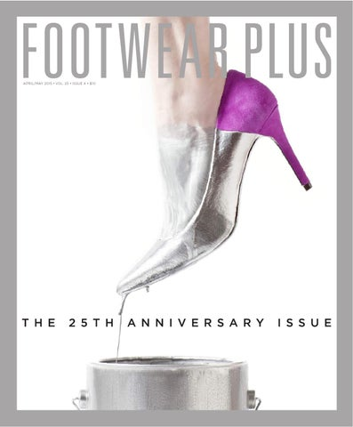Footwear Plus | April/May 2015
