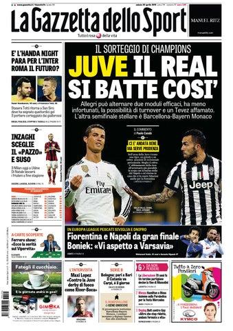 La Gazzetta dello Sport (04 - 25 - 2015) by Nguyen Duc Thinh - issuu 81506d232ba4