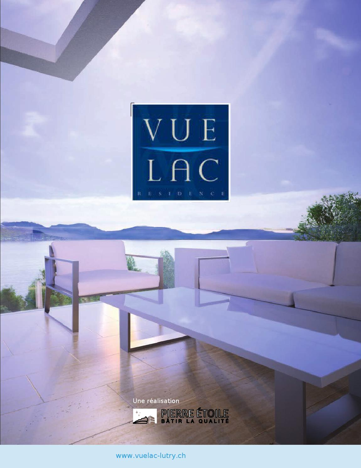 Brochure vue lac achat d 39 appartements lutry by for Achat maison luxe