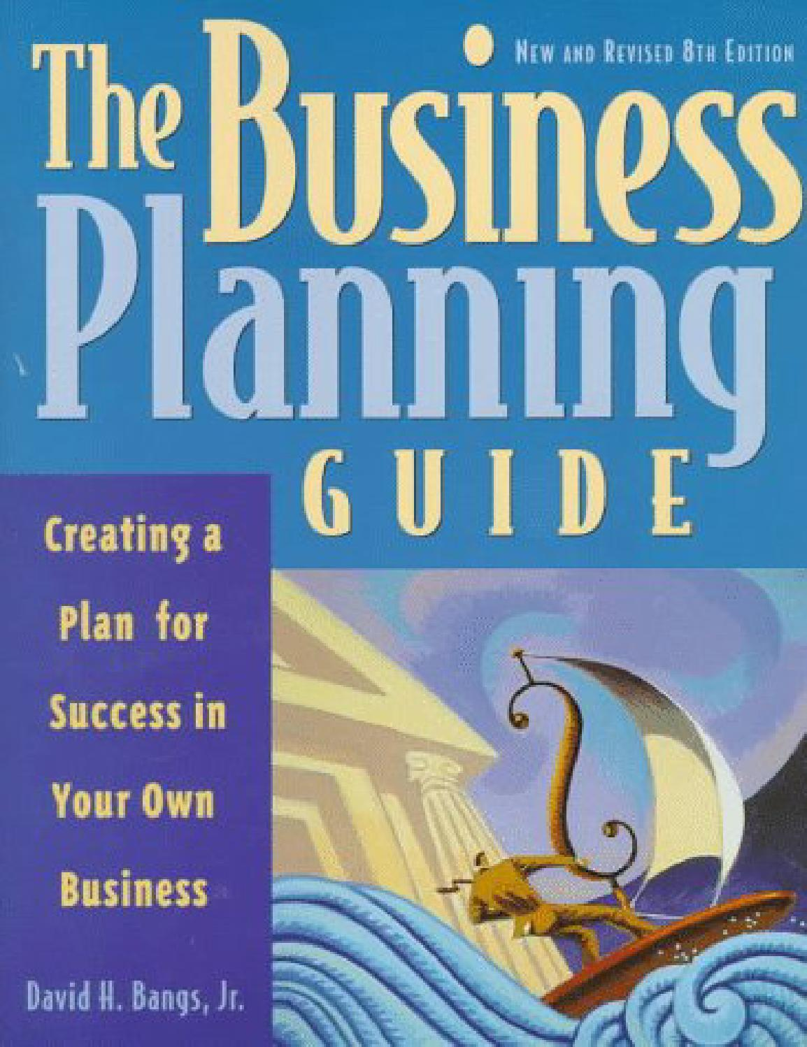 Business planning guide david h bangs pdf to jpg