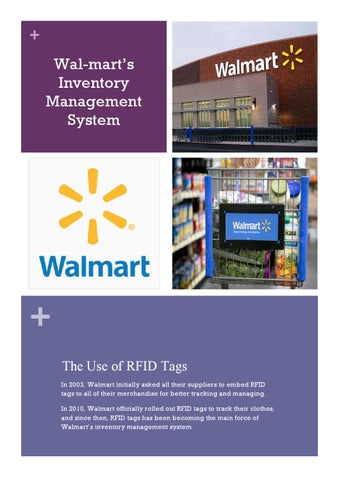 Walmart's Inventory Management System by Bowen Di - issuu