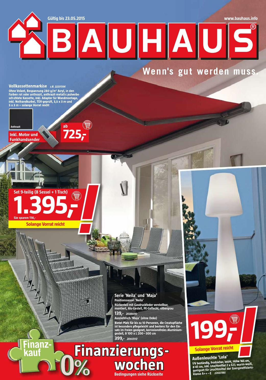 Bauhaus Angebote 26april 23mai2015 By Promoprospekte De Issuu