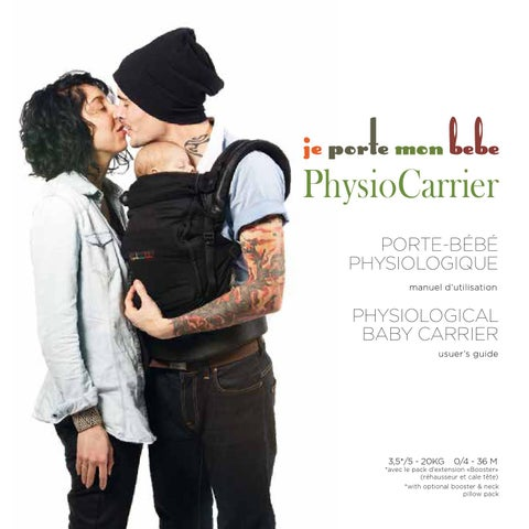 JPMBB PhysioCarrier By NovaVida Issuu - Porte bebe physiocarrier