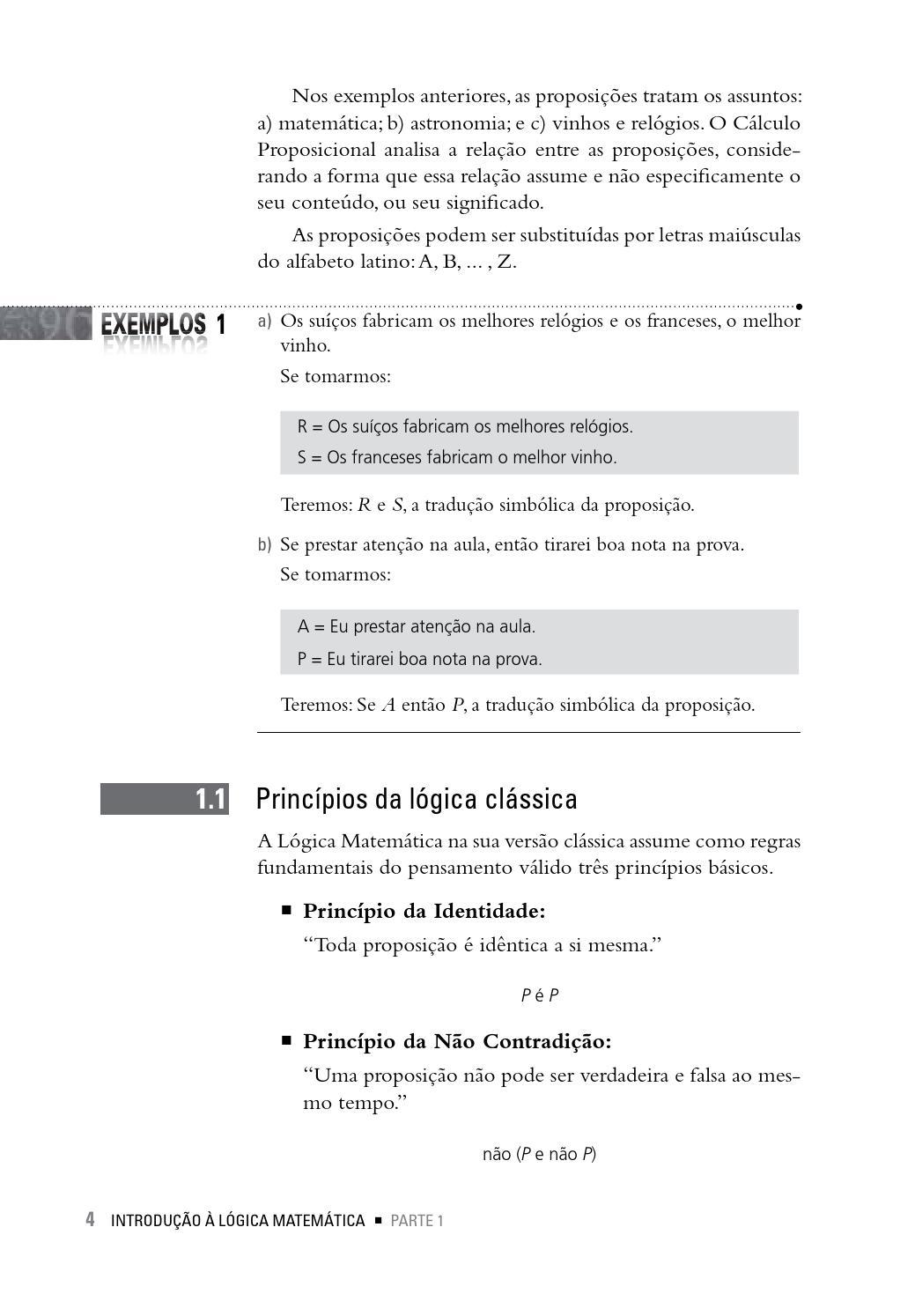 Introdução à Lógica Matemática By Cengage Brasil Issuu
