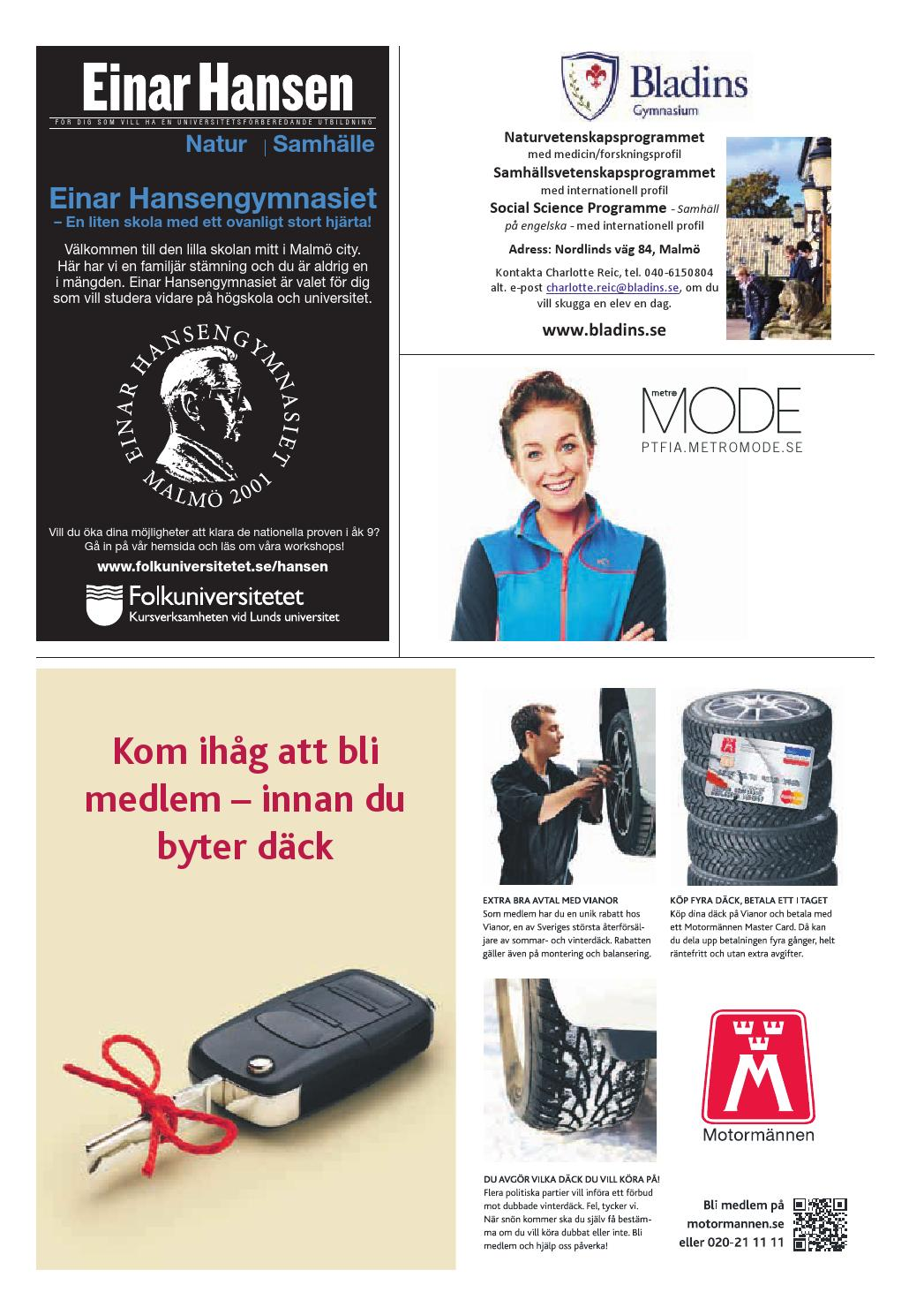20150427 Se Malmo By Metro Sweden Issuu