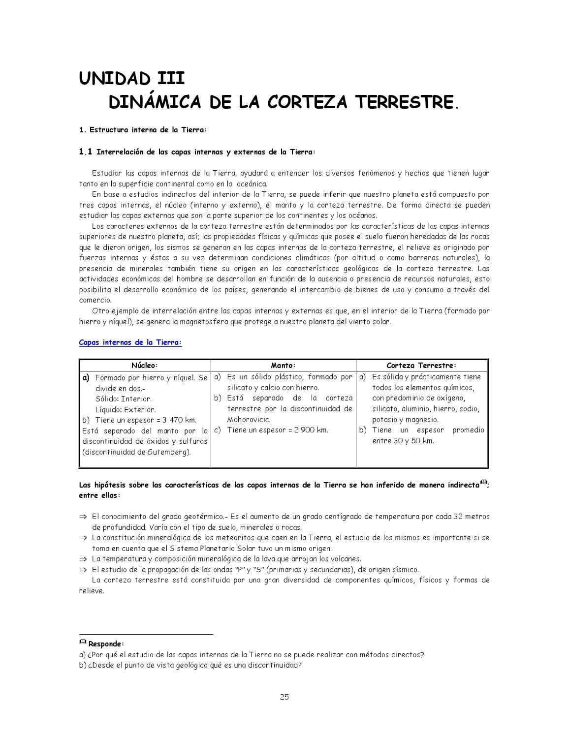 3 La Corteza Terrestre By César Vaca Issuu