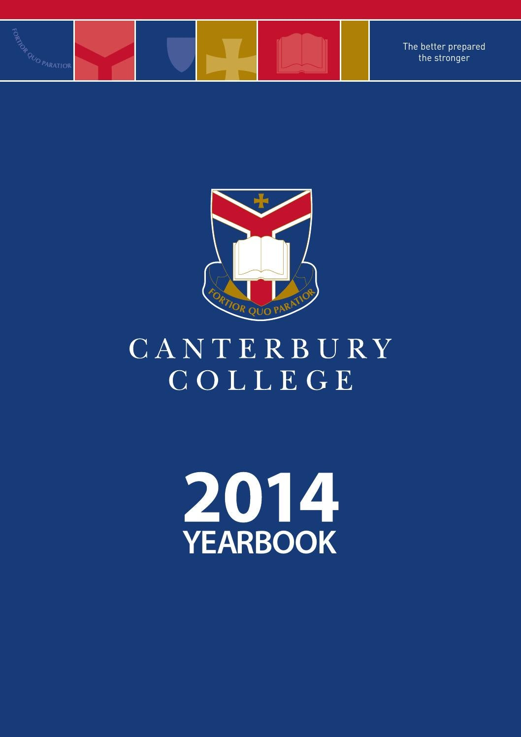 canterbury college yearbook 2014 by canterbury college