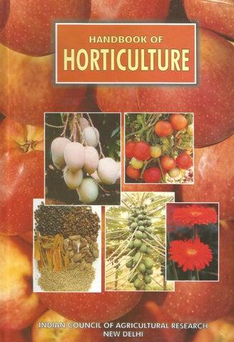 Handbook Of Horticulture by Kisan Forum Pvt  Ltd  - issuu