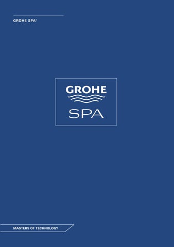 Grohe Spa Catalogue 2015 By Iris Issuu