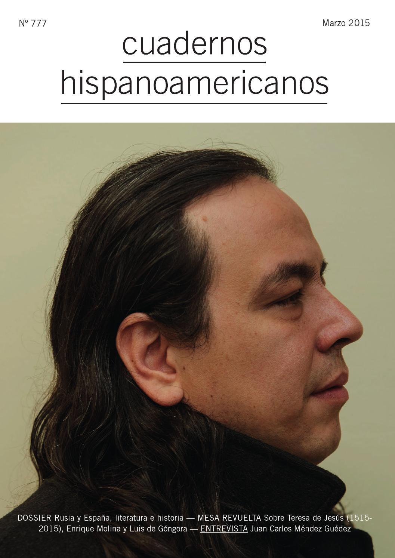 01f01ed7d Cuadernos Hispanoamericanos 777 (Marzo 2015) by AECID PUBLICACIONES - issuu