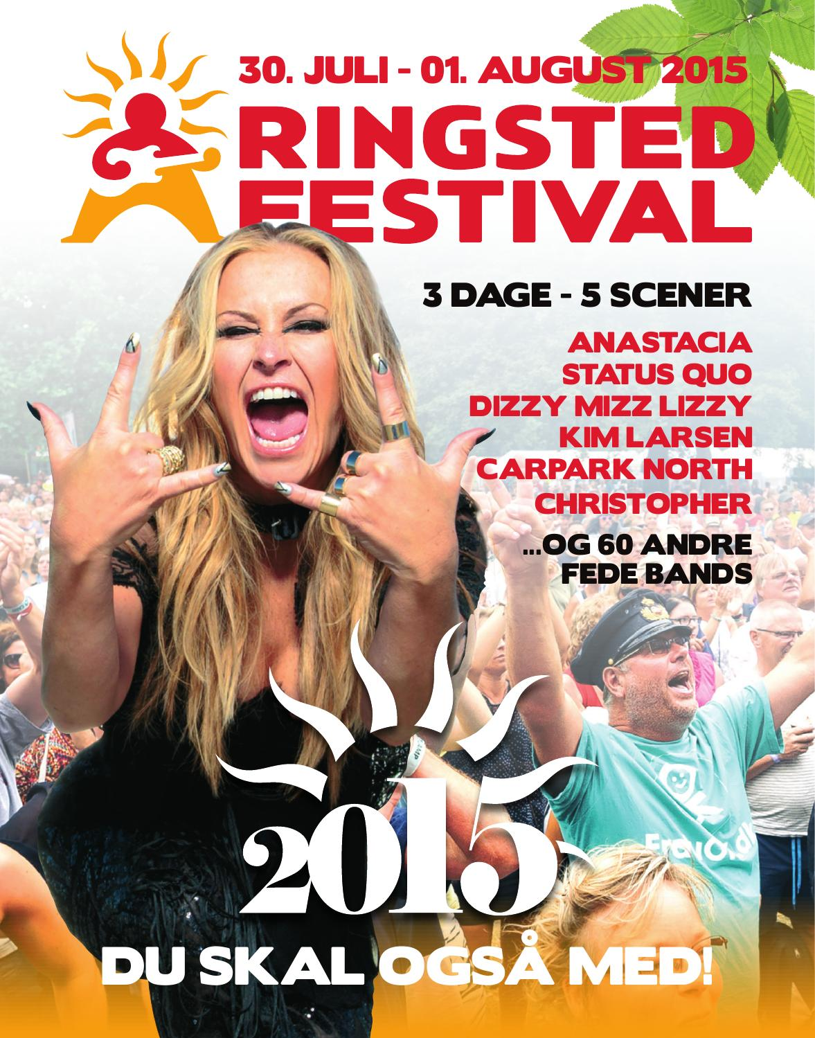 Ringsted Festival Magasin 2015 by Anders Sørensen - Issuu
