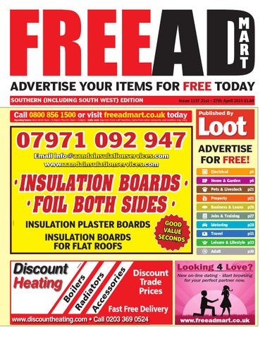 FreeAD Mart Southern 21st April 2015 by Loot - issuu 04a10570c