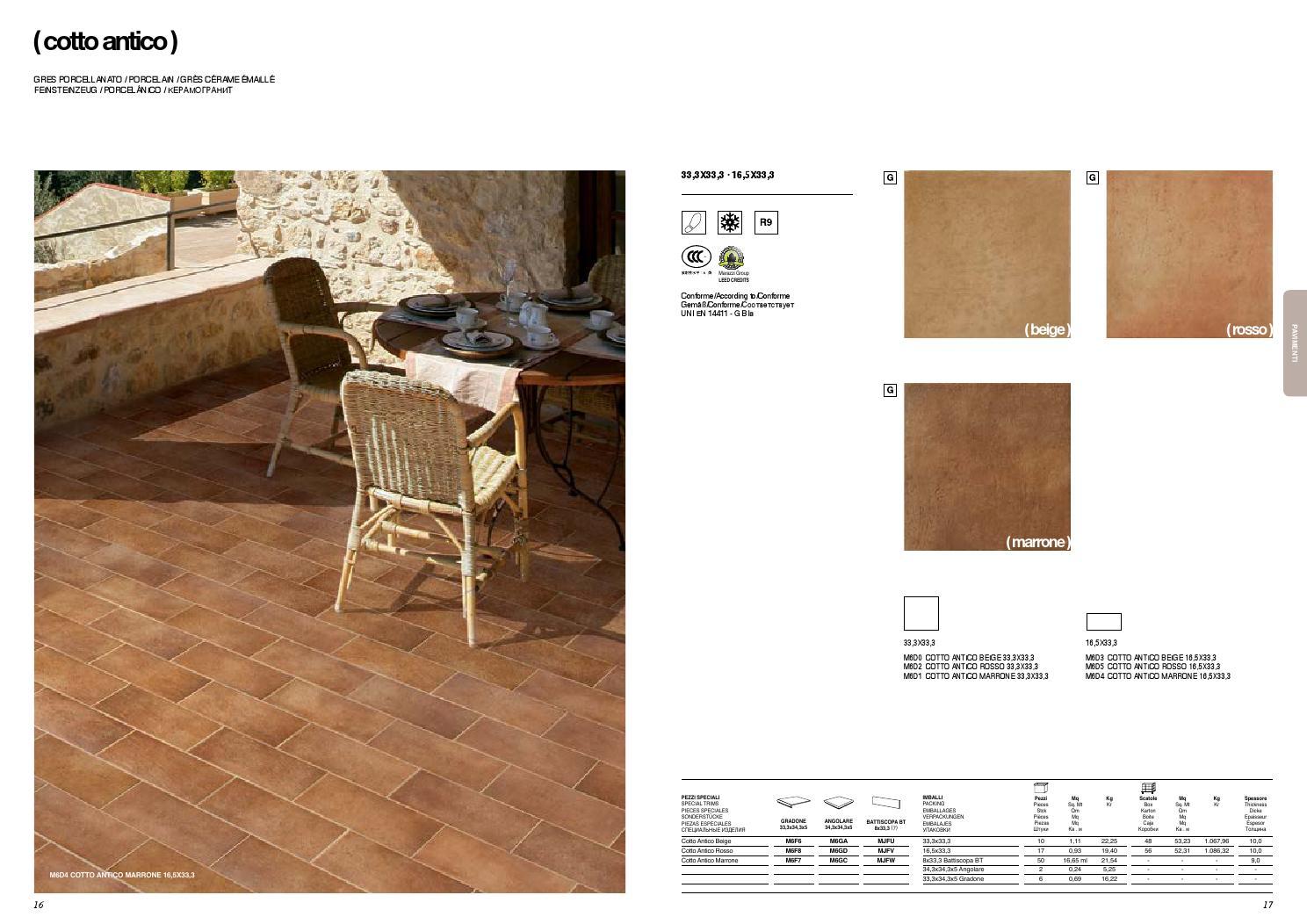 Marazzi italy contractors catalogue 2015 by iris issuu for Marazzi cotto antico