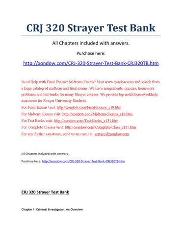 fin426 chapter1 testbank questions Benefits of test banks purchasing a test bank / exam bank is the best value-for-money tool that you will enjoy aside from various benefits that you can get.