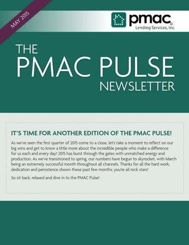PMAC Pulse By Lending Services