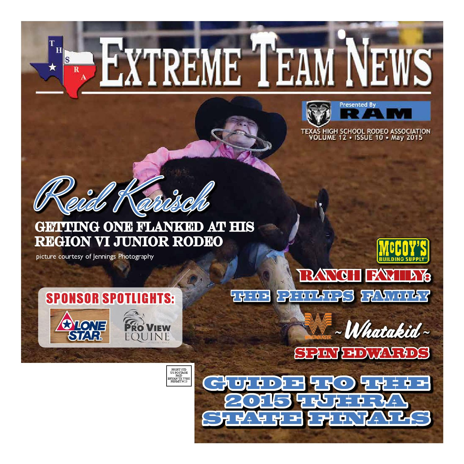 May 2015 Extreme Team News Official News Of Texas High