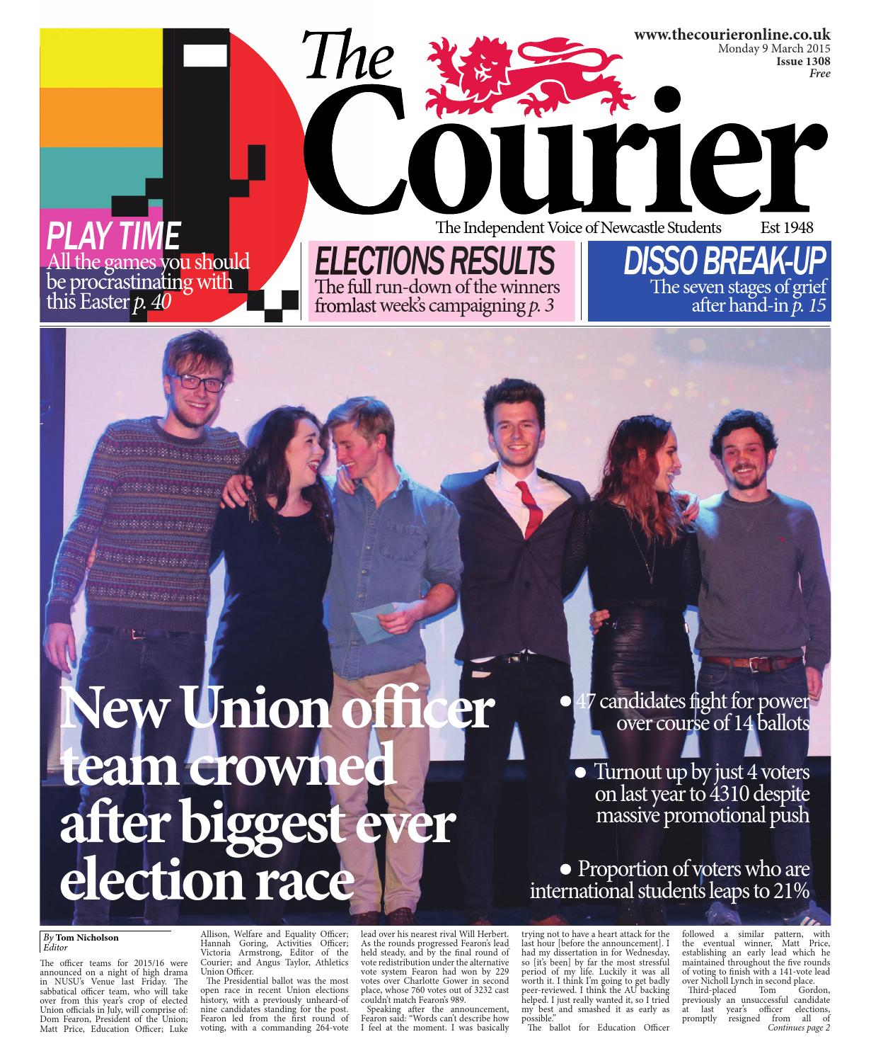 Courier 1308 by The Courier Online - issuu aeb07827666