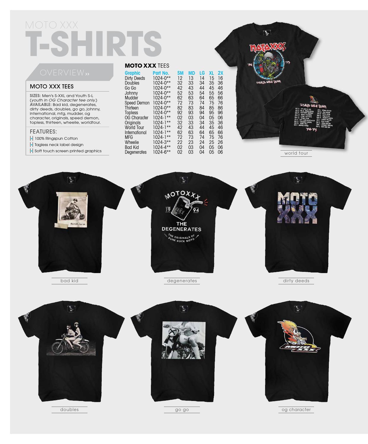 O /'Neal Moto XXX T-shirt degenerates BLACK