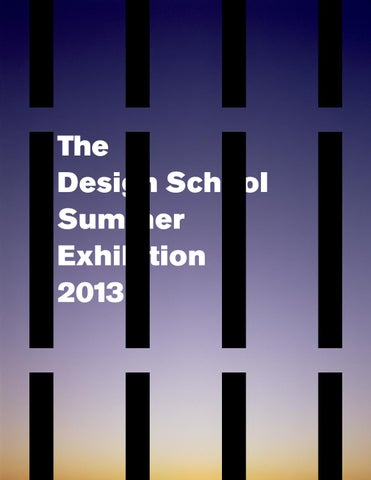 Student Exhibition Catalog 2013 by The Design , ASU ... on