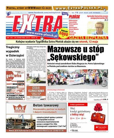 Extra Płońsk Nr 105 By Extrapłońsk Issuu