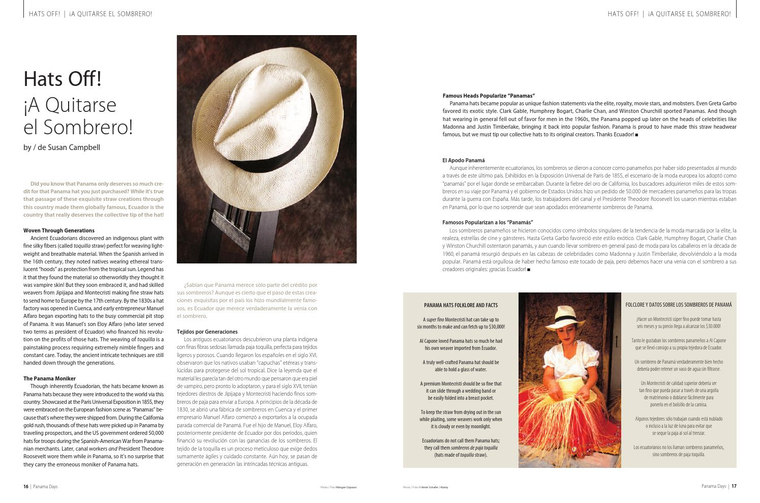 a903ae96 Hats Off to Ecuador-Panama by Sue Campbell - issuu