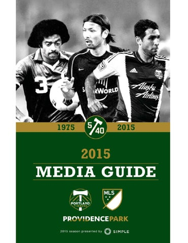 2015 Portland Timbers Media Guide by Portland Timbers - issuu a437dcdad