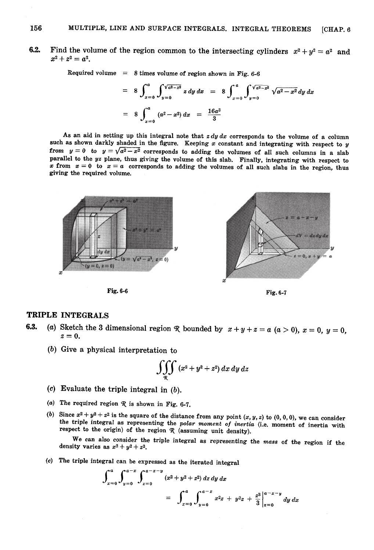 Triple integral mathematica on