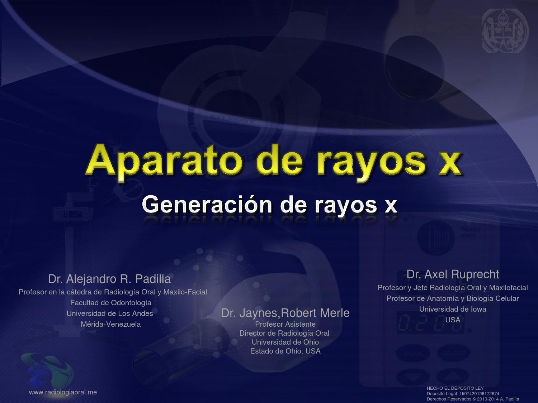 Aparato de rayos x - generación de rayos x by Alejandro Padilla - issuu