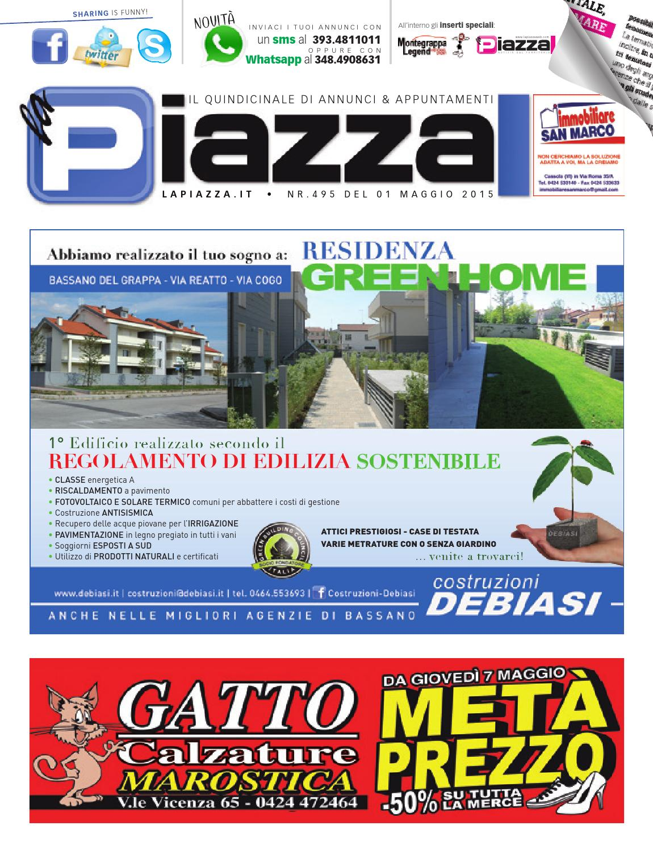 laPiazzaonline495 by la Piazza di Cavazzin Daniele - issuu 88682486d33
