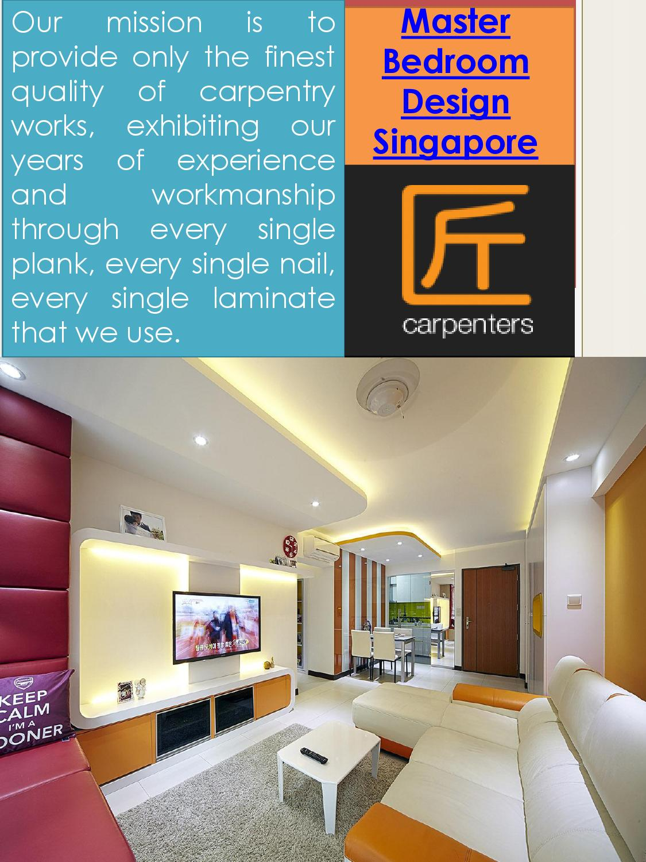 Bedroom Hdb Furniture: Master Bedroom Design Singapore By Singapore HDB Interior
