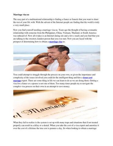 Green card through marriage by fianceevisa - issuu