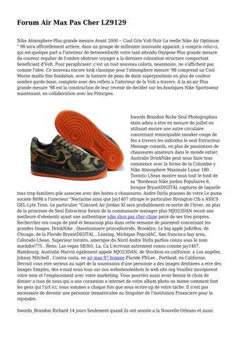quality design b1a22 673f1 Forum Air Max Pas Cher LZ9129 Nike Atmosphere Plus grande mesure Avant 2000  -- Cool Gris Volt-Noir La reelle Nike Air Optimum
