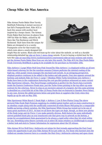 wholesale online new style new lower prices Cheap Nike Air Max America by cooingleash4783 - issuu
