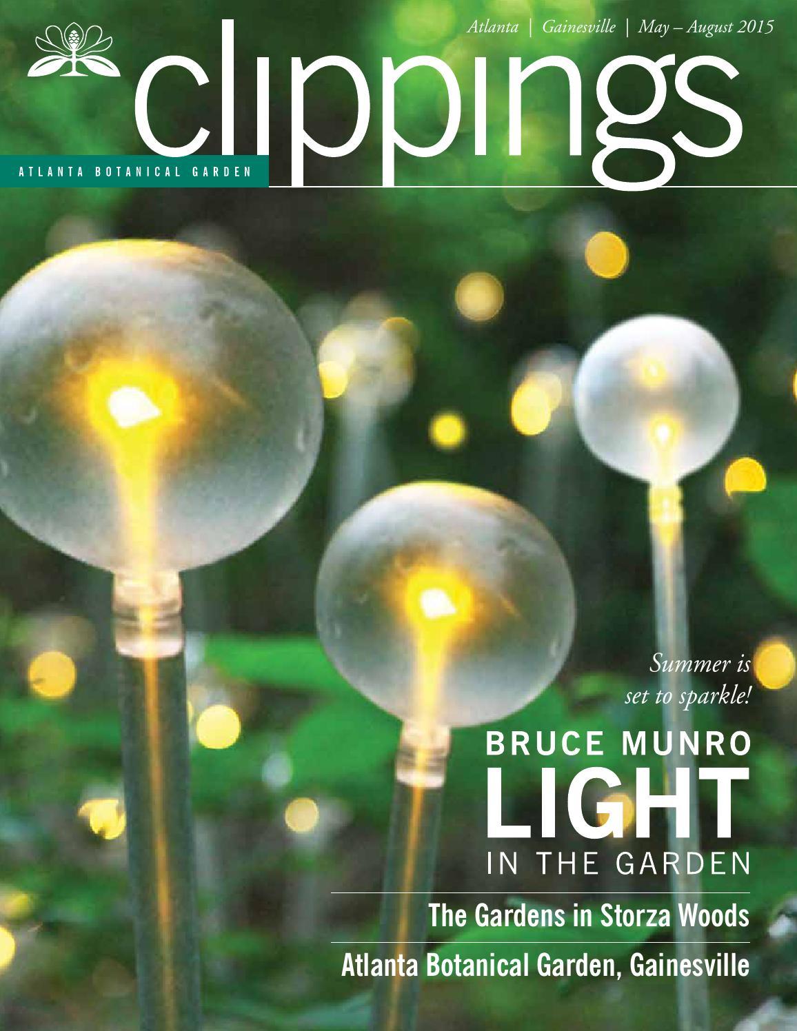 Clippings may aug 2015 by atlanta botanical garden issuu - Botanical gardens gainesville ga ...