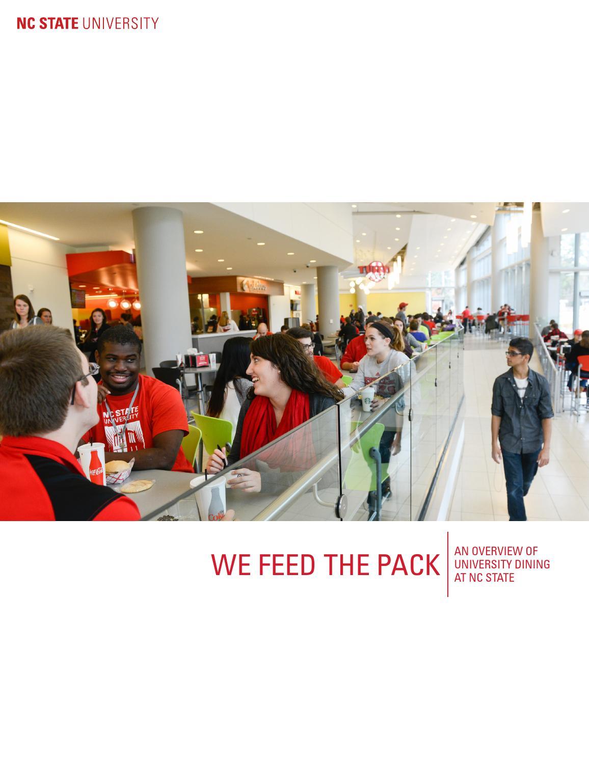2015 NC State University Dining Overview by Jennifer Holland