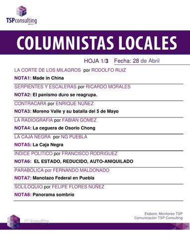 Estosdías N° 526 by Estosdías S.A de C.V. - issuu