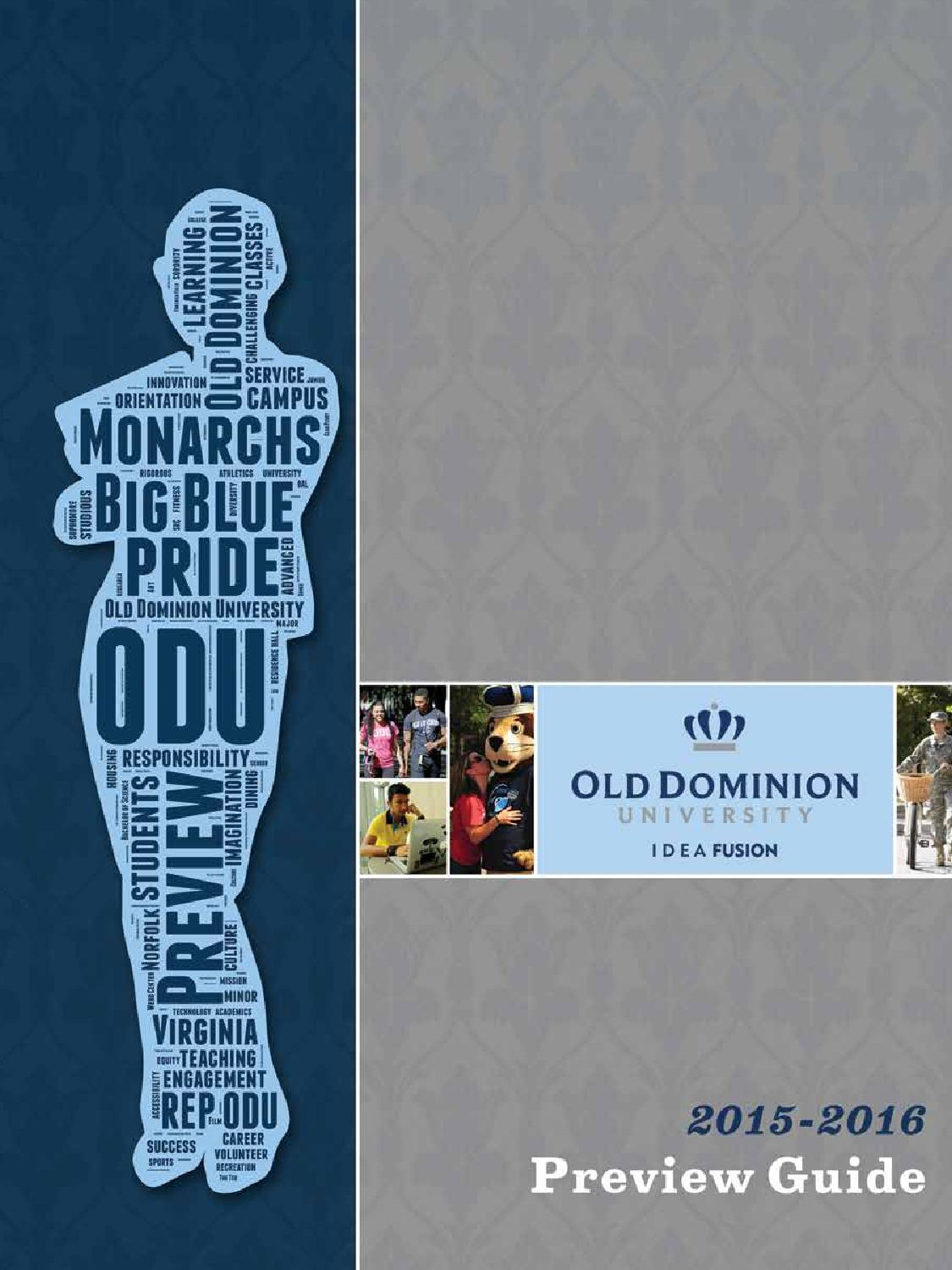 2015 Preview Guide by Old Dominion University issuu